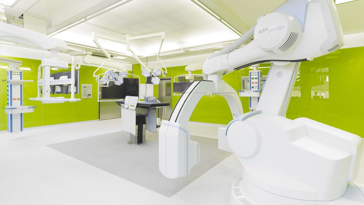 Albertinen-Krankenhaus – Glas-OP