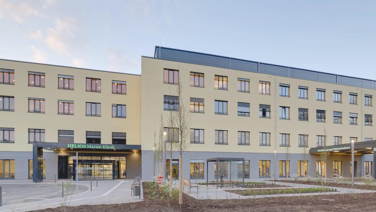 Helios Marien Klinik Duisburg – Neubau