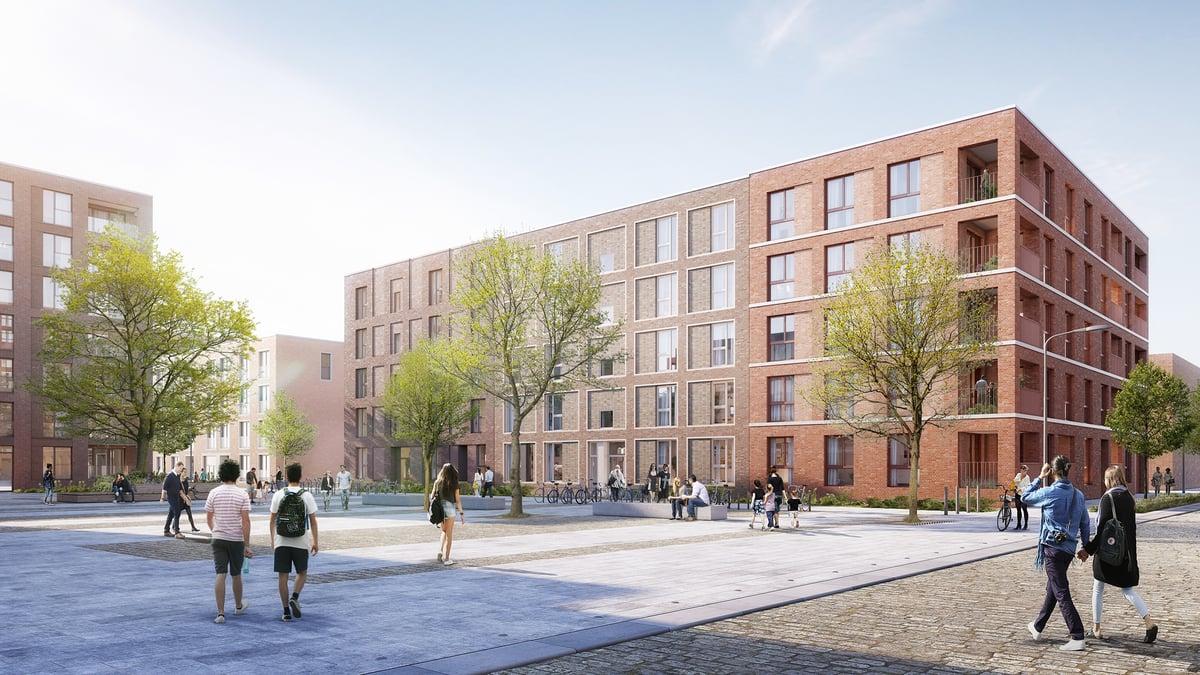 Kolbenhöfe, Baufeld 3.2 – Neubau in Hamburg-Ottensen