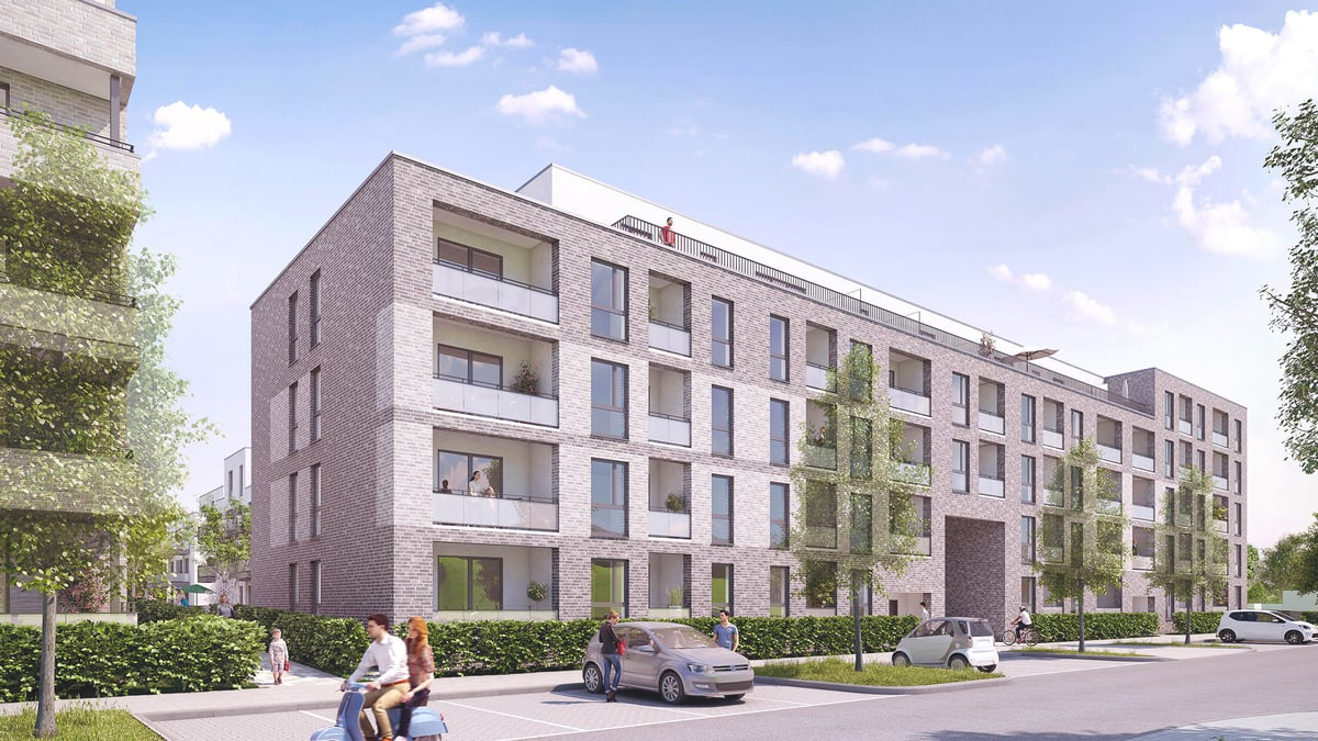 Tarpenbeker Ufer, Baufeld 10 – Neubau in Hamburg-Groß Borstel