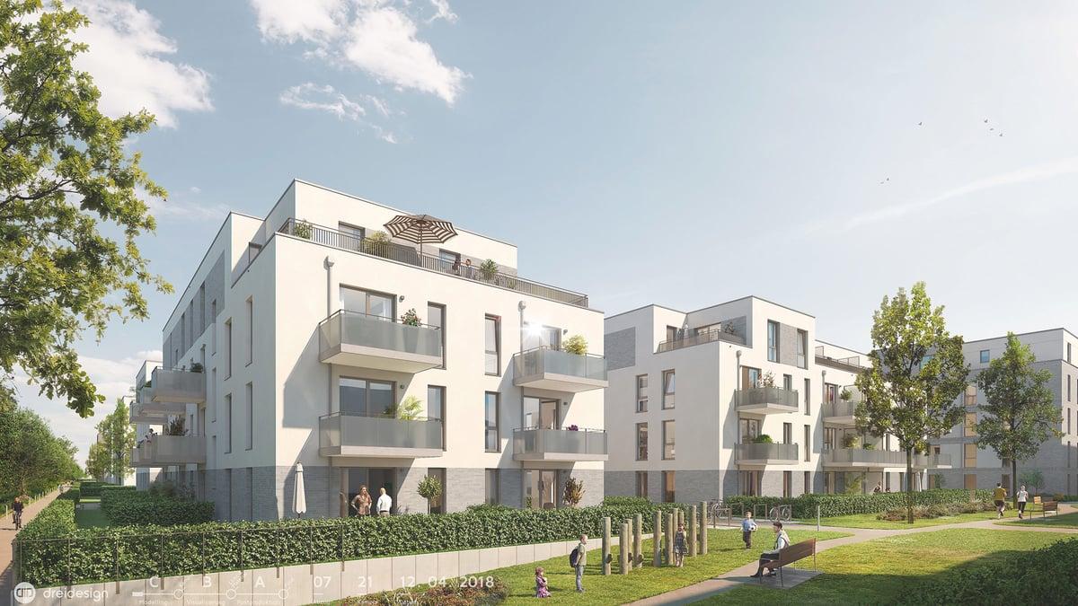 Tarpenbeker Ufer, Baufeld 5 – Neubau in Hamburg-Broß Borstel