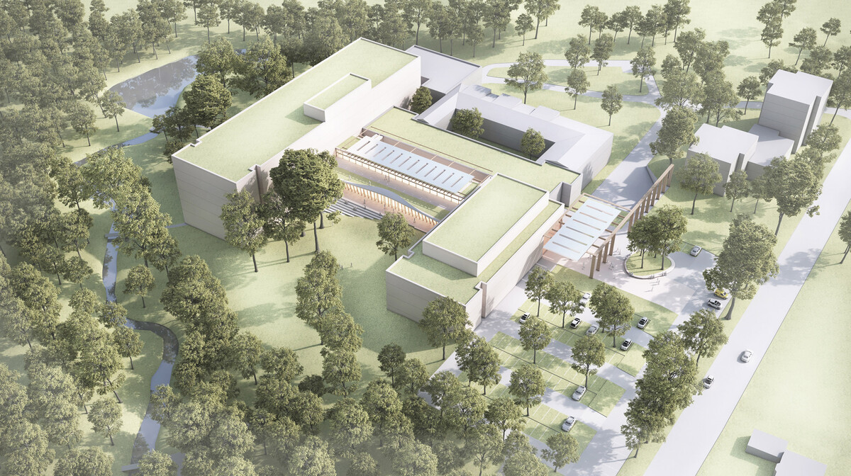Neubau der LungenClinic Großhansdorf